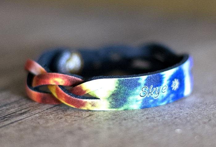 Name Bracelet Customize Leather Treaty