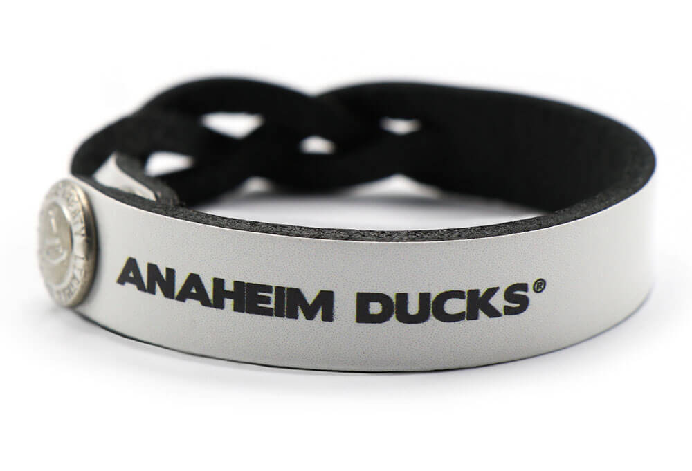 Anaheim Ducks Braided One Side Bracelet