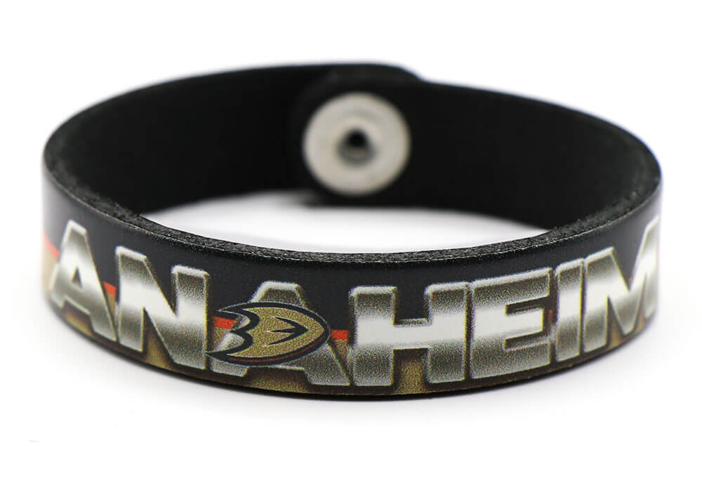 Anaheim Ducks Slim Bracelet