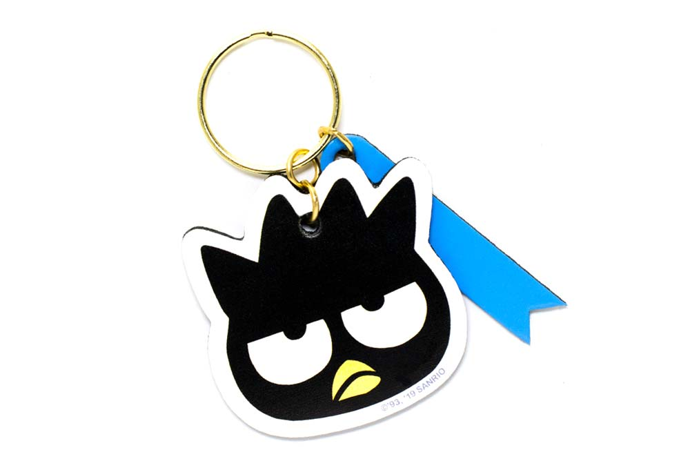 badtz-maru-keychain-with-engravable-tag