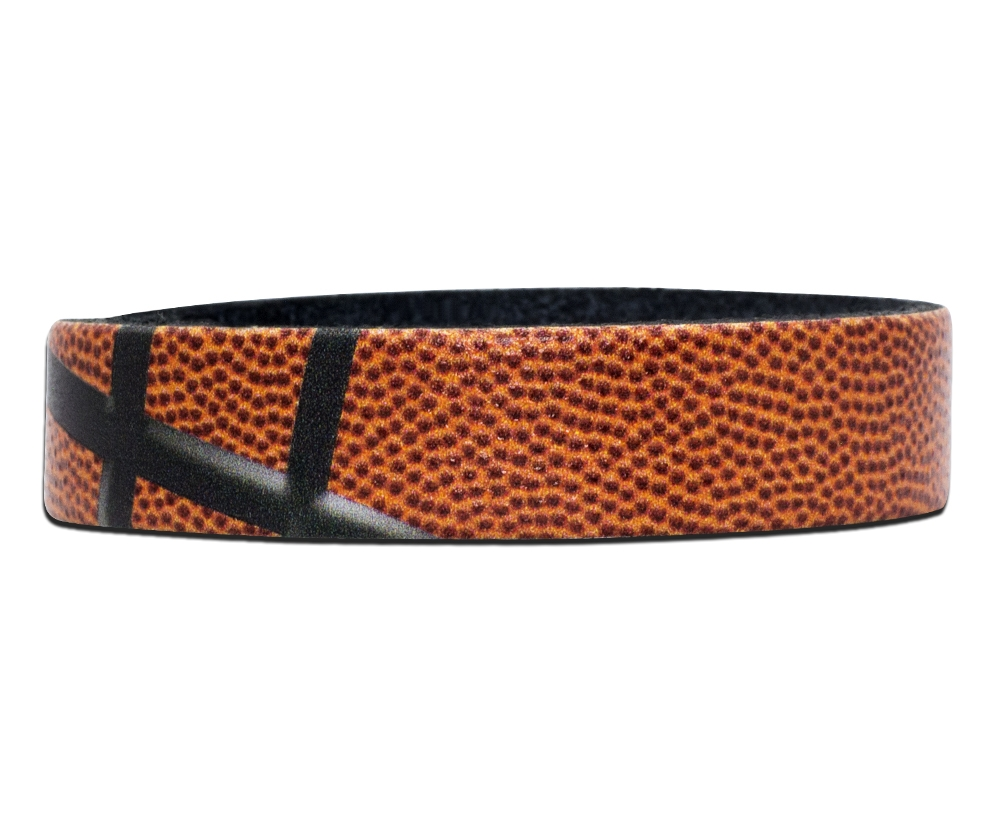 basketball-textured-custom-engraved-wristband-bracelet