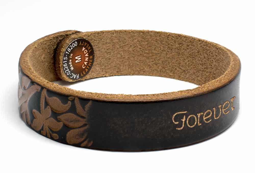 Embossed Wristband