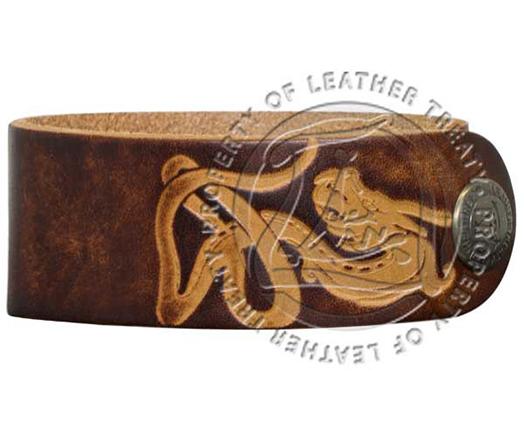 brown-dragon-embossed-engravable-cuff-bracelet