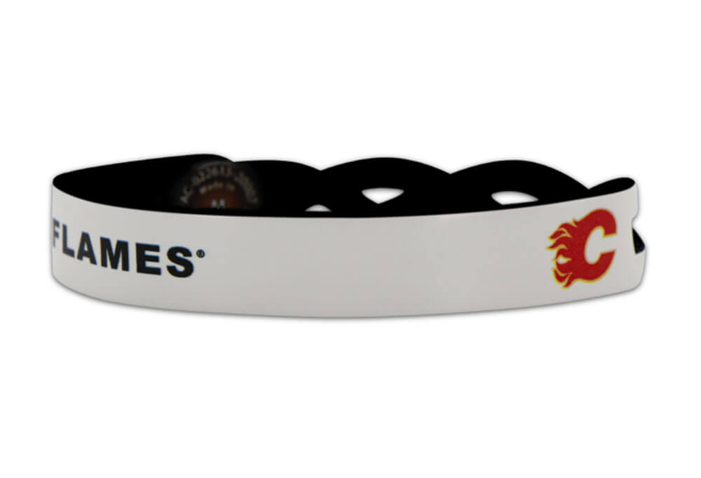 Calgary Flames Braided One Side Bracelet