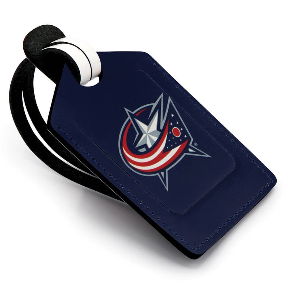 Columbus Blue Jackets Stitched Luggage Tag