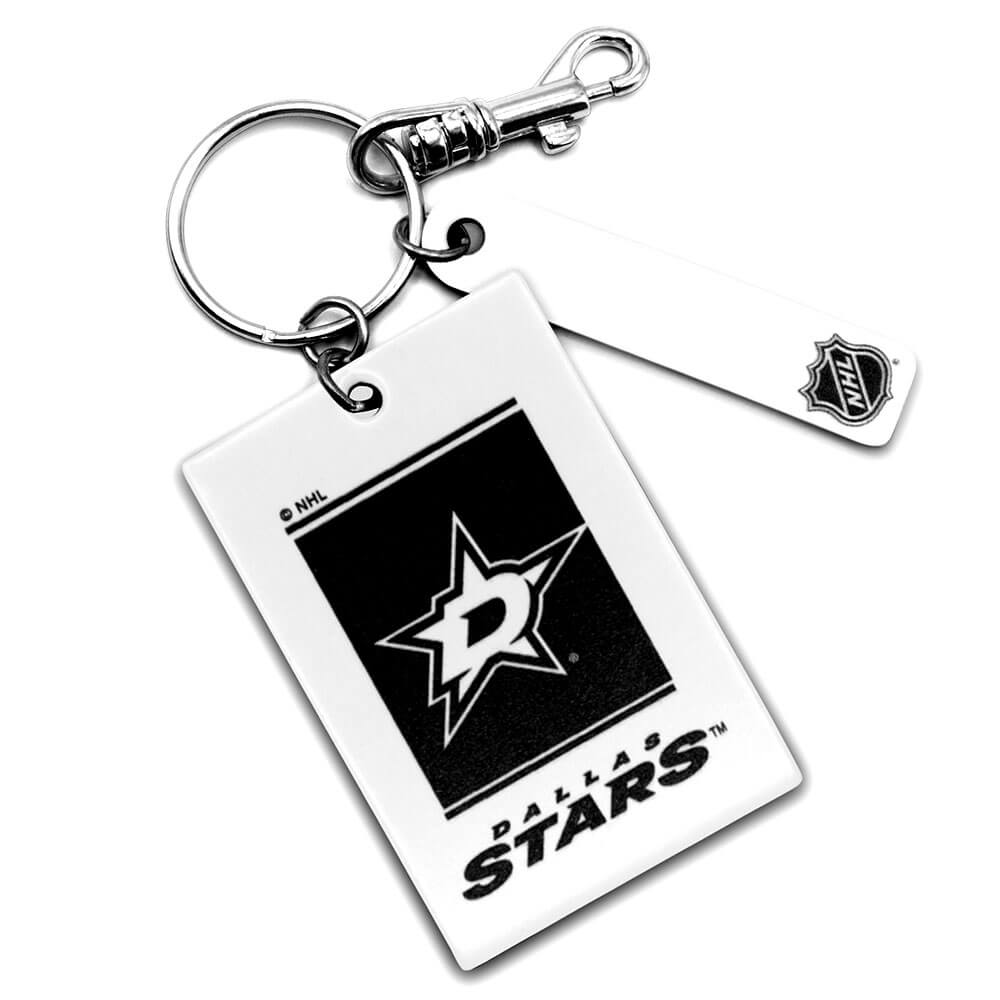 Dallas Stars Rectangle Key Ring Keychain