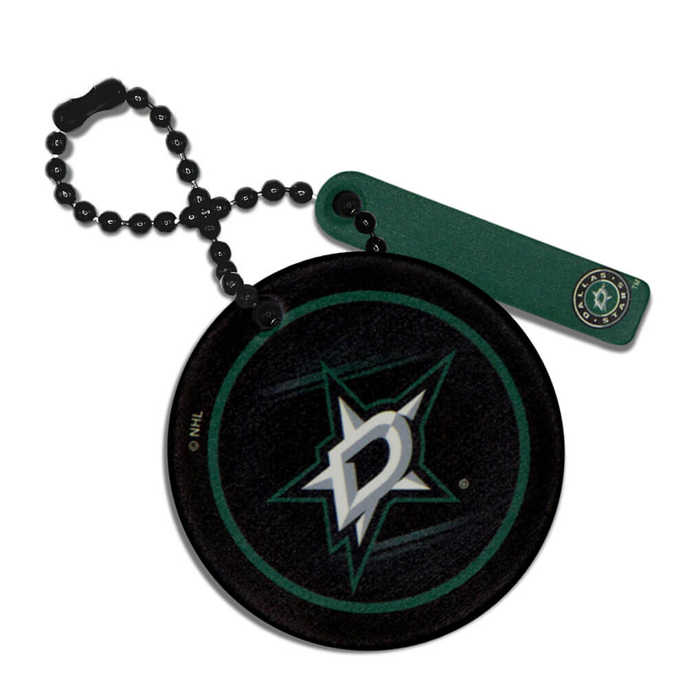 Dallas Stars Round Ball Chain Keychain