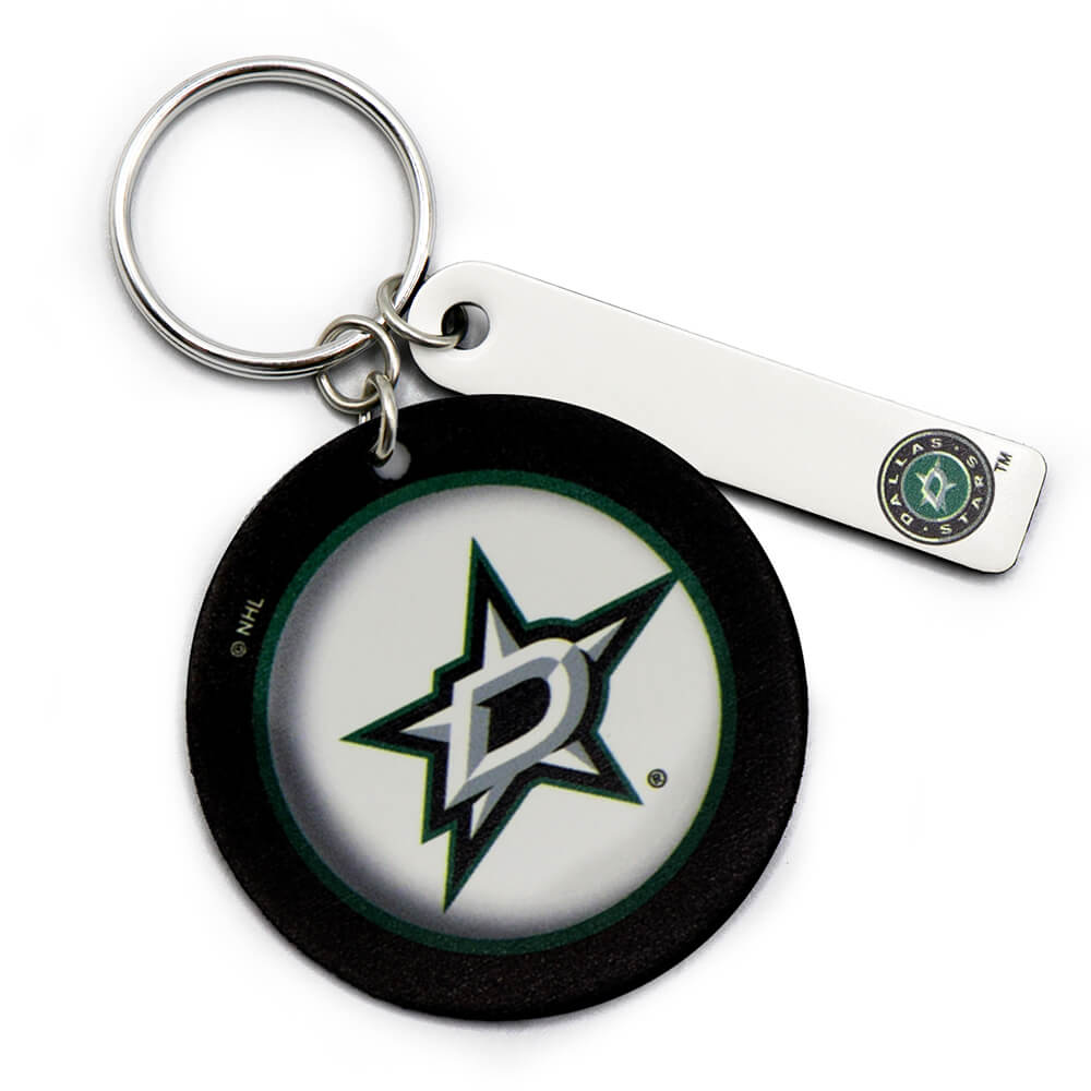 Dallas Stars Round Key Ring Keychain