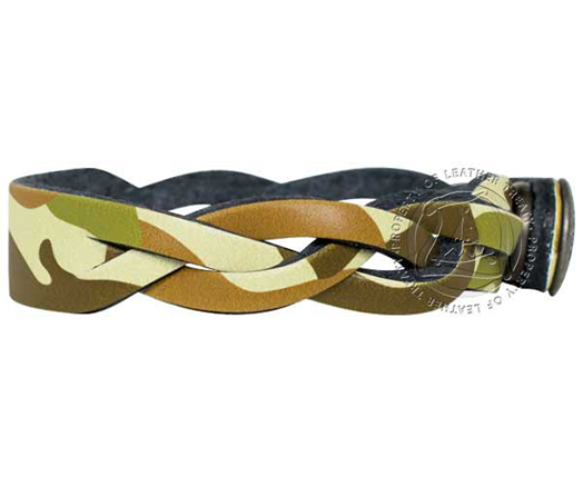 engravable-green-brown-camouflage-pattern-2-braided-bracelet 2