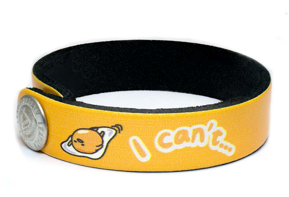 Gudetama Fried Wristband Bracelet