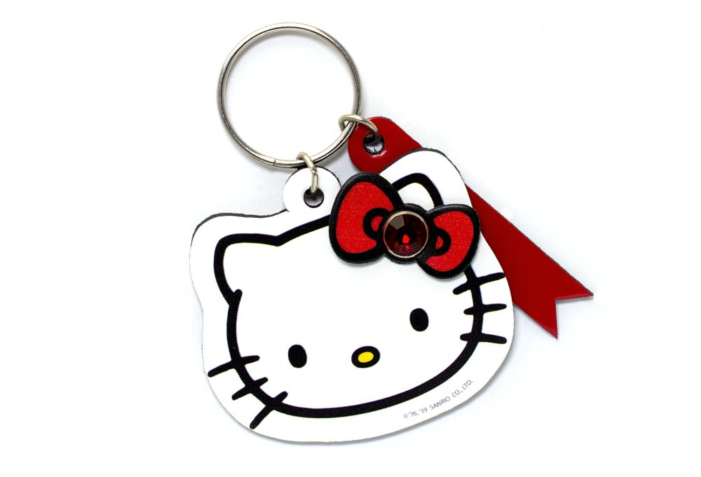 Hello Kitty Face Keychain