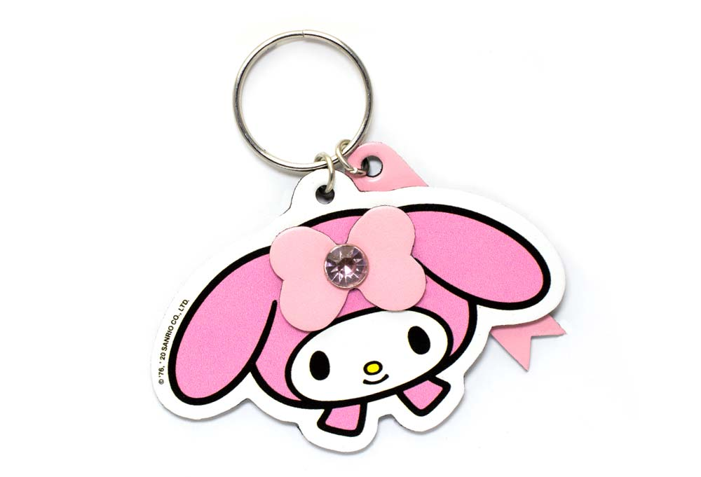 My Melody Face Keychain