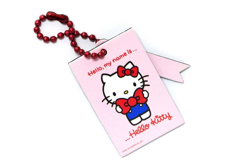 My Name is Hello Kitty Bag Tag