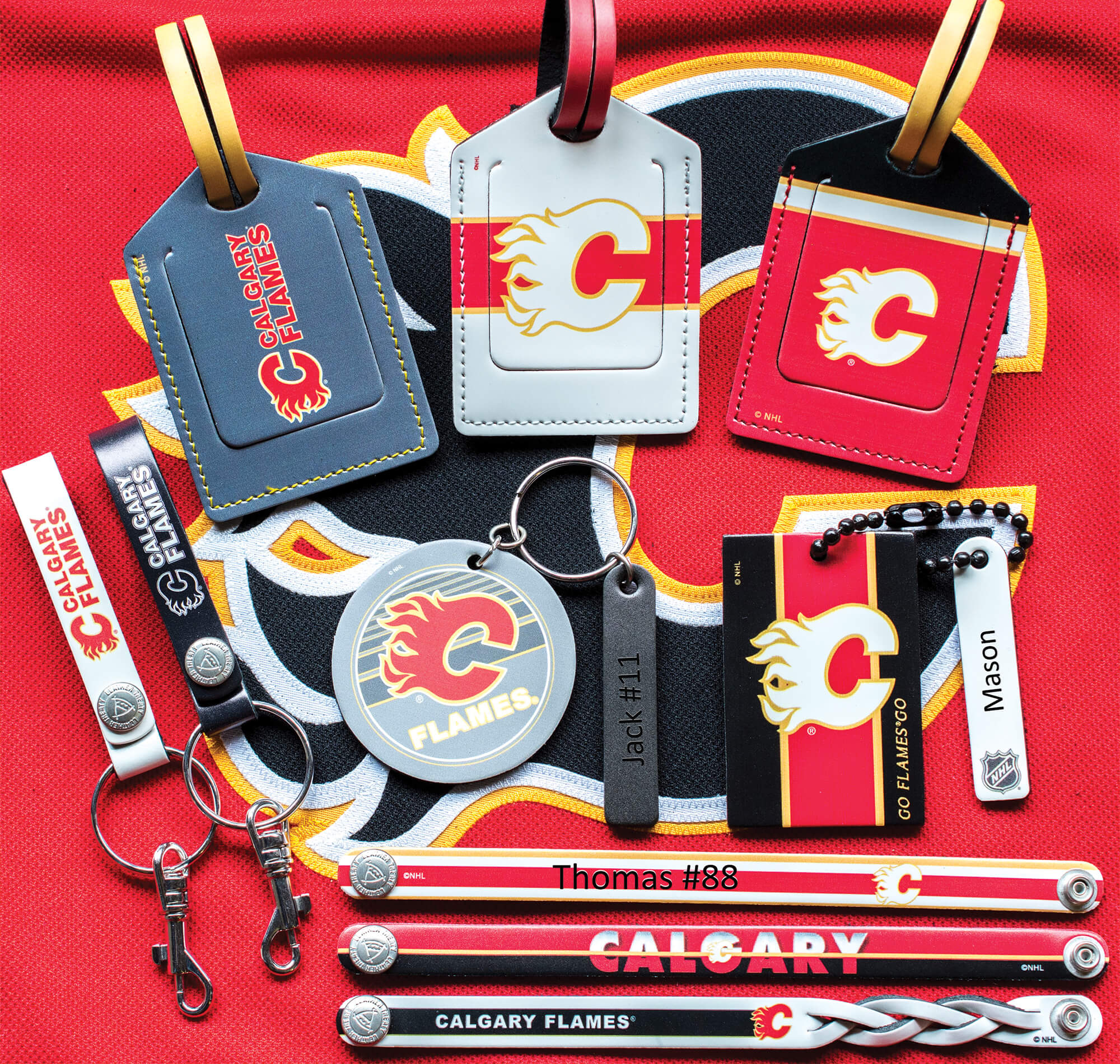 <p>NHL Collection Of Engraving Examples Calgary Flames</p>