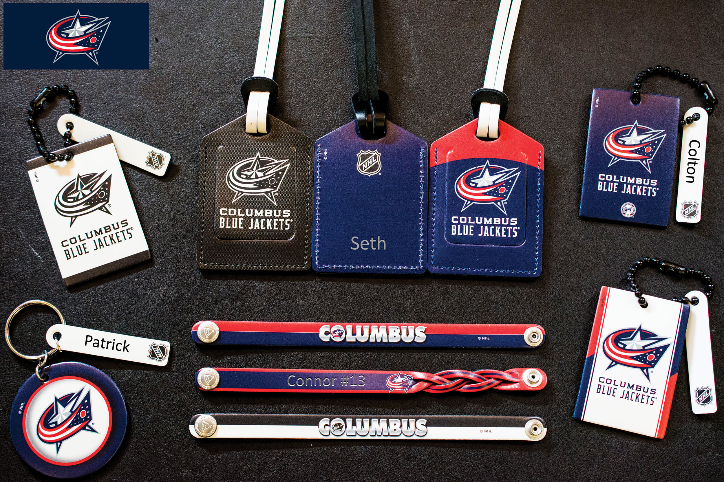 <p>NHL Collection Of Engraving Examples Columbus Blue Jackets</p>