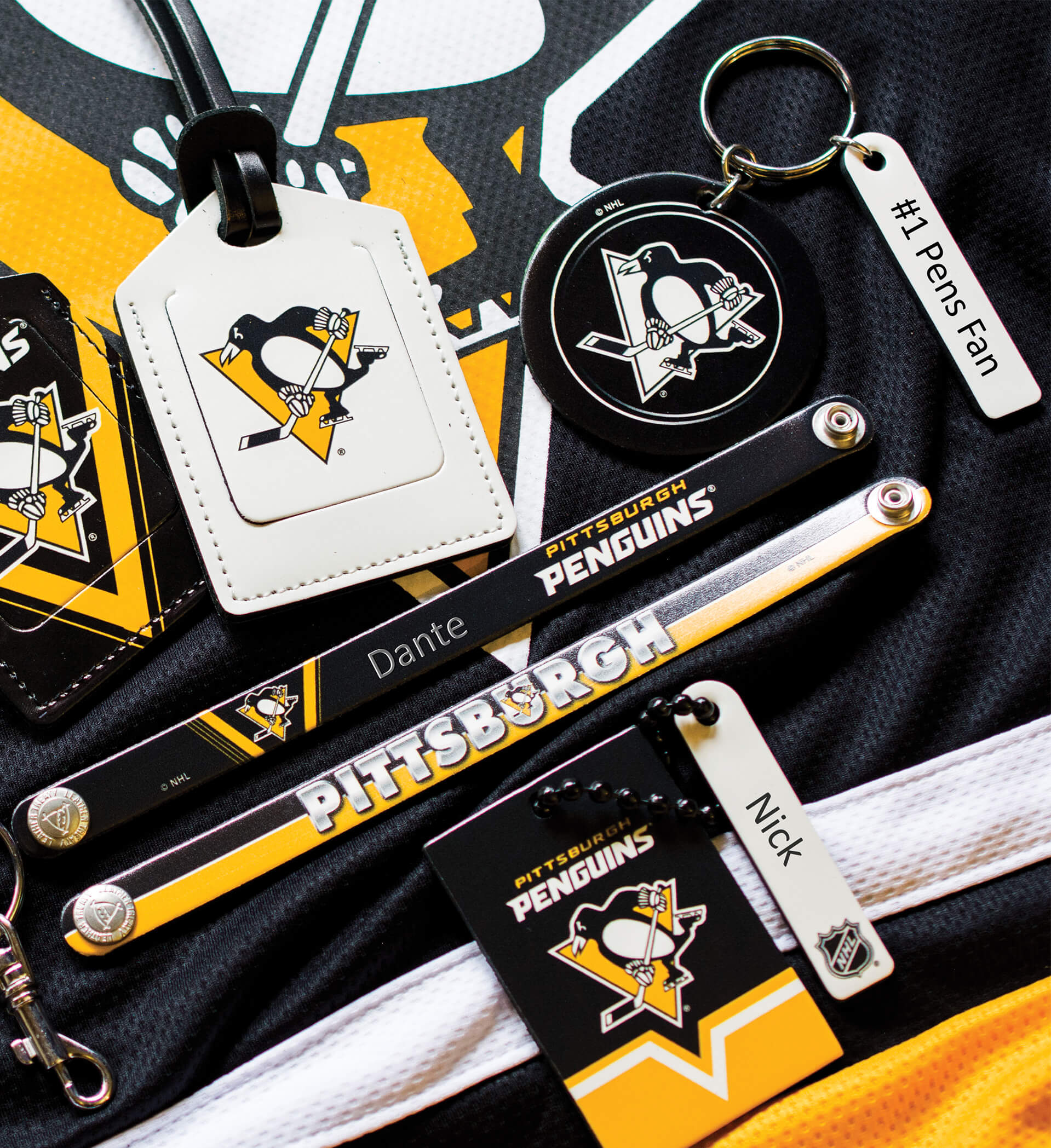 <p>NHL Collection Of Engraving Examples Pittsburgh Penguins</p>