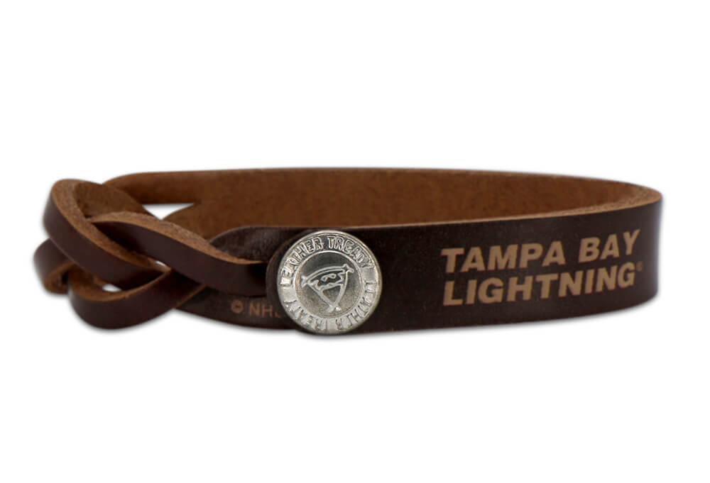 Tampa Bay Lightning Braided One Side Bracelet