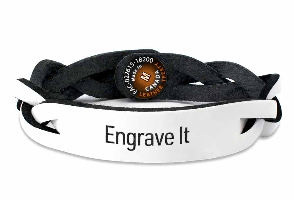 Personalized Leather Bracelets | Leather Treaty