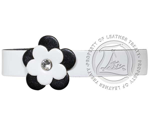 white-black-back-flower-braided-engraved-bracelet