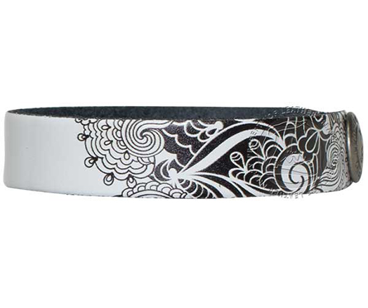 white-black-back-lace-customizable-wristband-bracelet