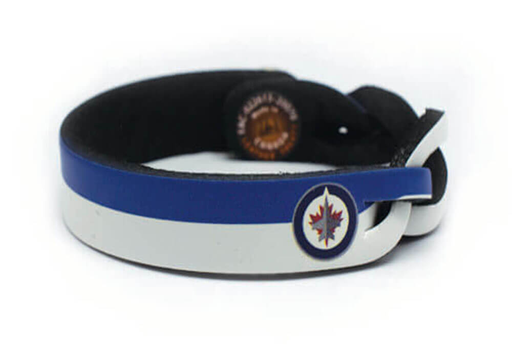 Winnipeg Jets Braided One Side Bracelet
